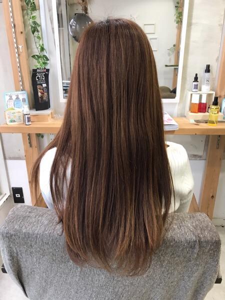 退色で黄色みが気になる髪を艶髪カラー。原宿・表参道『1000人をツヤ髪にヘアケア美容師の挑戦』