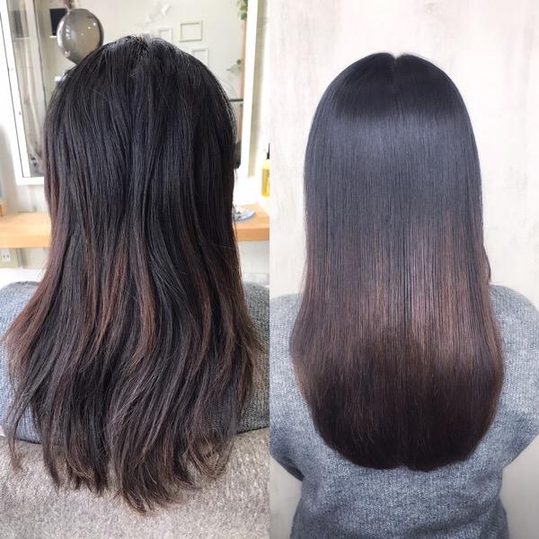 【縮毛矯正】でつやっつやの艶髪ストレートヘアに。原宿・表参道『1000人をツヤ髪にヘアケア美容師の挑戦』
