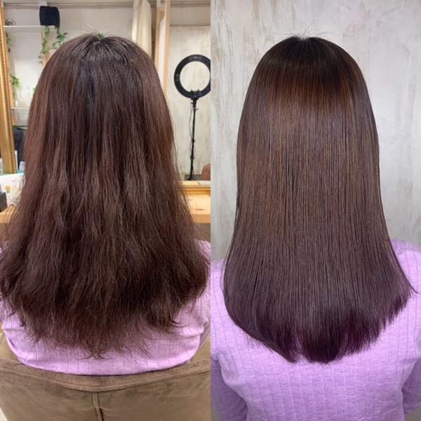 パーマで髪がチリチリに。。【ビビリ矯正】つやっつやの艶髪に直します。原宿・表参道『1000人をツヤ髪にヘアケア美容師の挑戦』