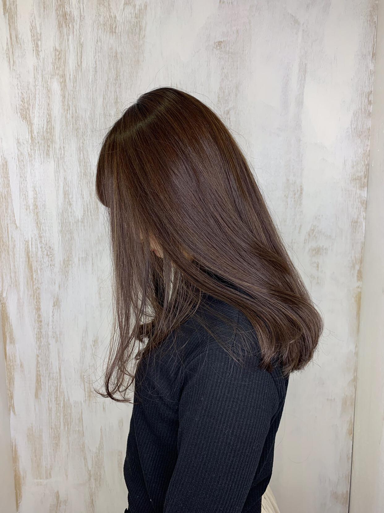 ハイライトカラーの入った髪の【縮毛矯正】原宿・表参道『1000人をツヤ髪にヘアケア美容師の挑戦』