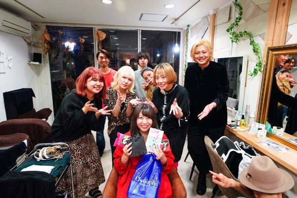 昨日は「あさみんの誕生日」 原宿・表参道『1000人をツヤ髪にヘアケア美容師の挑戦』