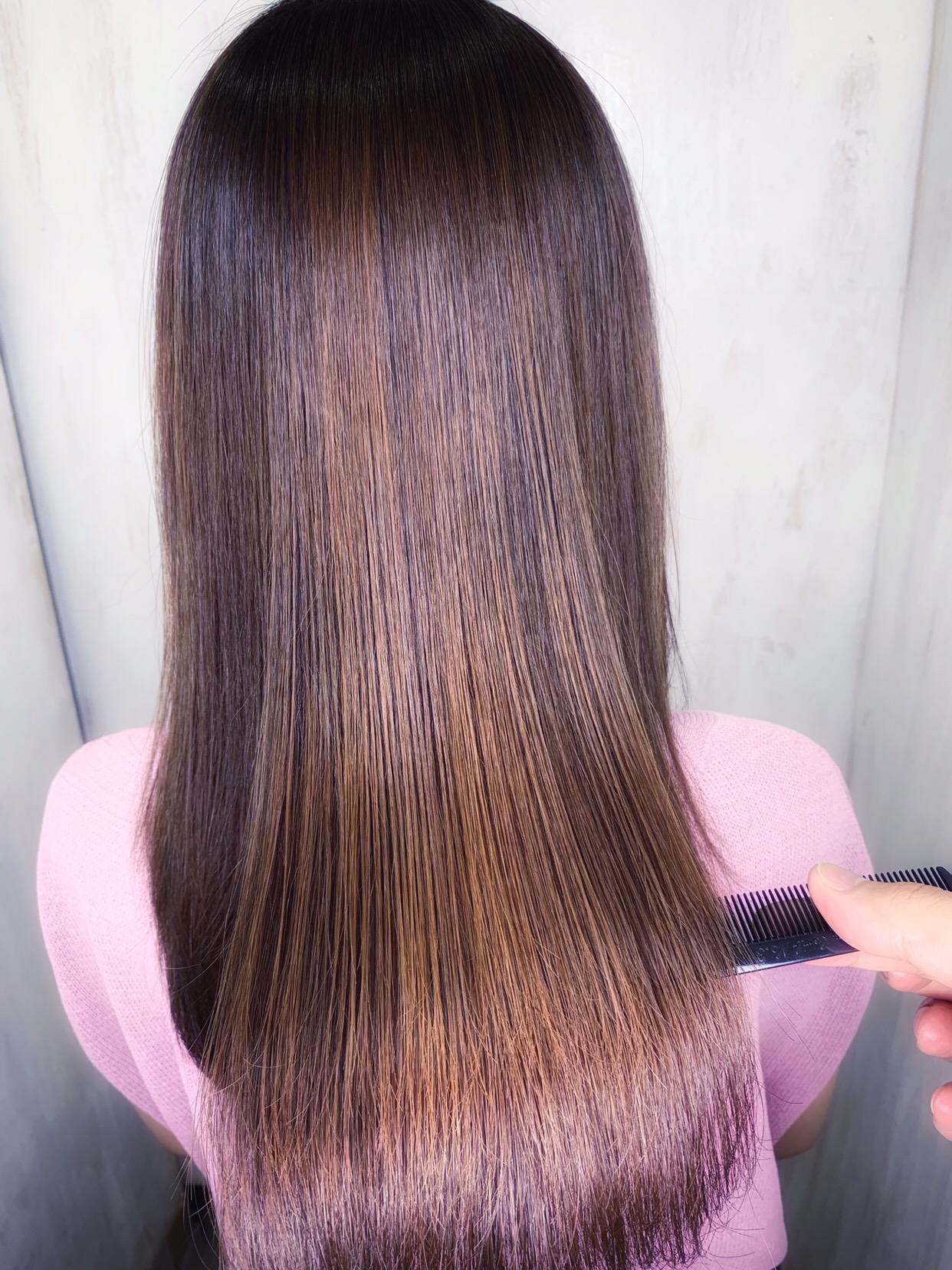 広がる毛先もまとまる【ジュエリーシステム×LULUトリートメント×縮毛矯正】原宿・表参道『1000人をツヤ髪にヘアケア美容師の挑戦』