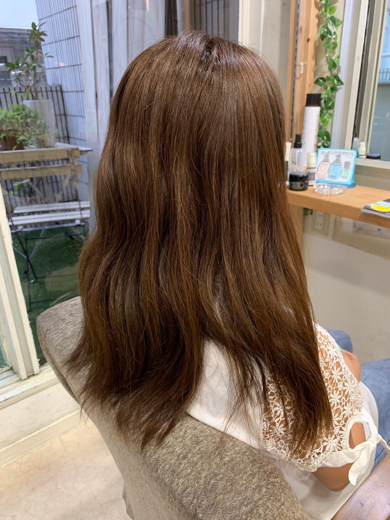 つやっつやの艶髪を作る【ジュエリーシステム×LULUトリートメント×縮毛矯正】