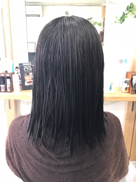 ボブの縮毛矯正。原宿・表参道『1000人をツヤ髪にヘアケア美容師の挑戦』