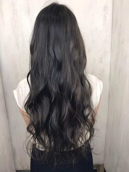 ダブルカラーで透明感のある【暗髪カラー】原宿・表参道『1000人をツヤ髪にヘアケア美容師の挑戦』