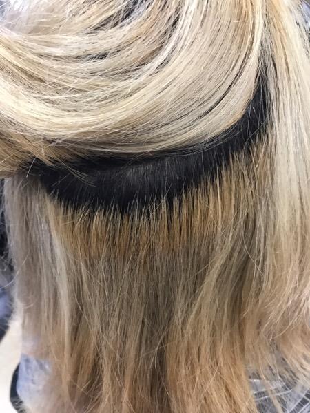 オレオルカラーで髪のダメージを抑えた透明感カラー。原宿・表参道『1000人をツヤ髪にヘアケア美容師の挑戦』