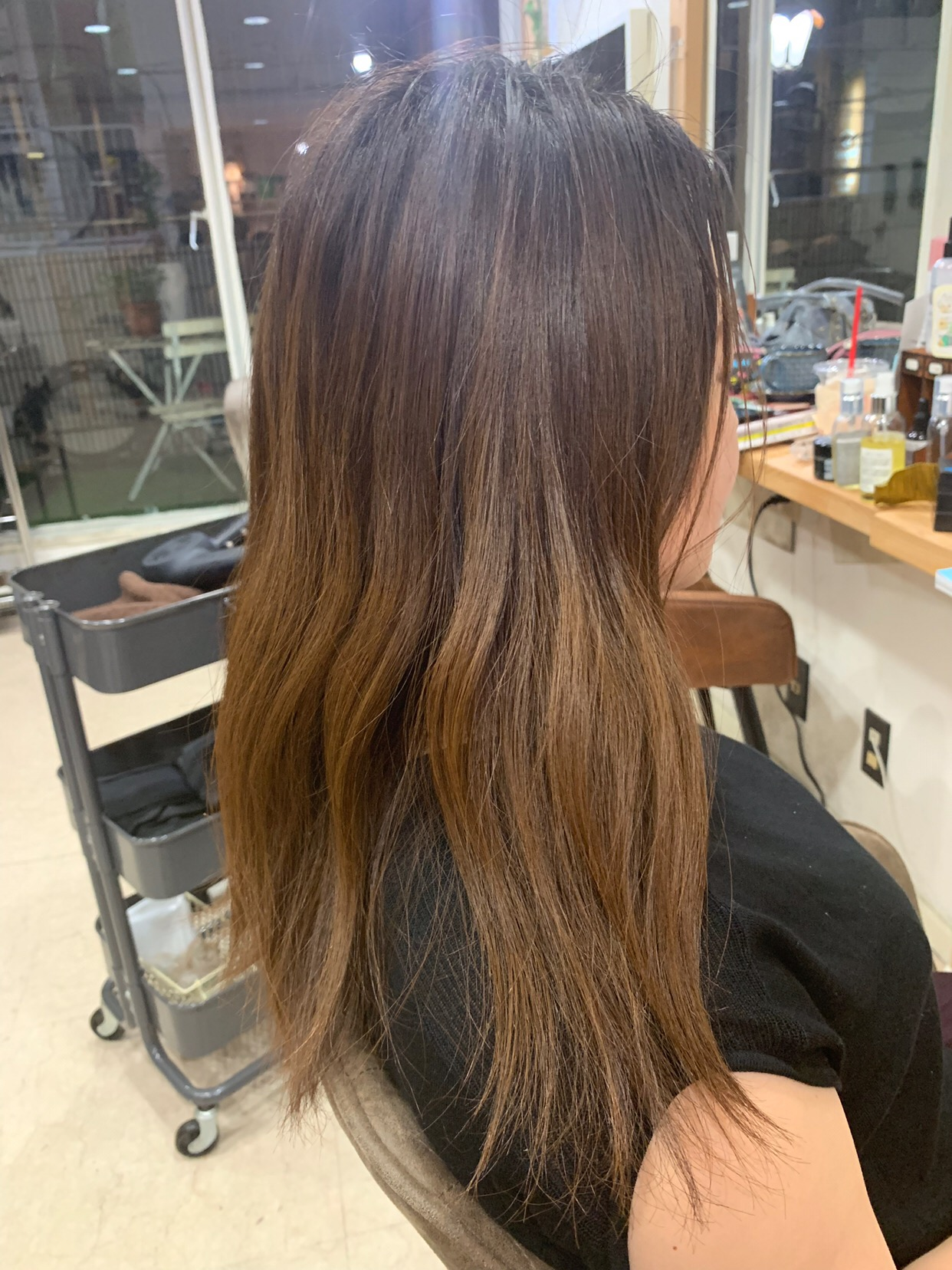 髪質改善+オレオルカラーでつやっつやの艶髪。原宿・表参道『1000人をツヤ髪にヘアケア美容師の挑戦』