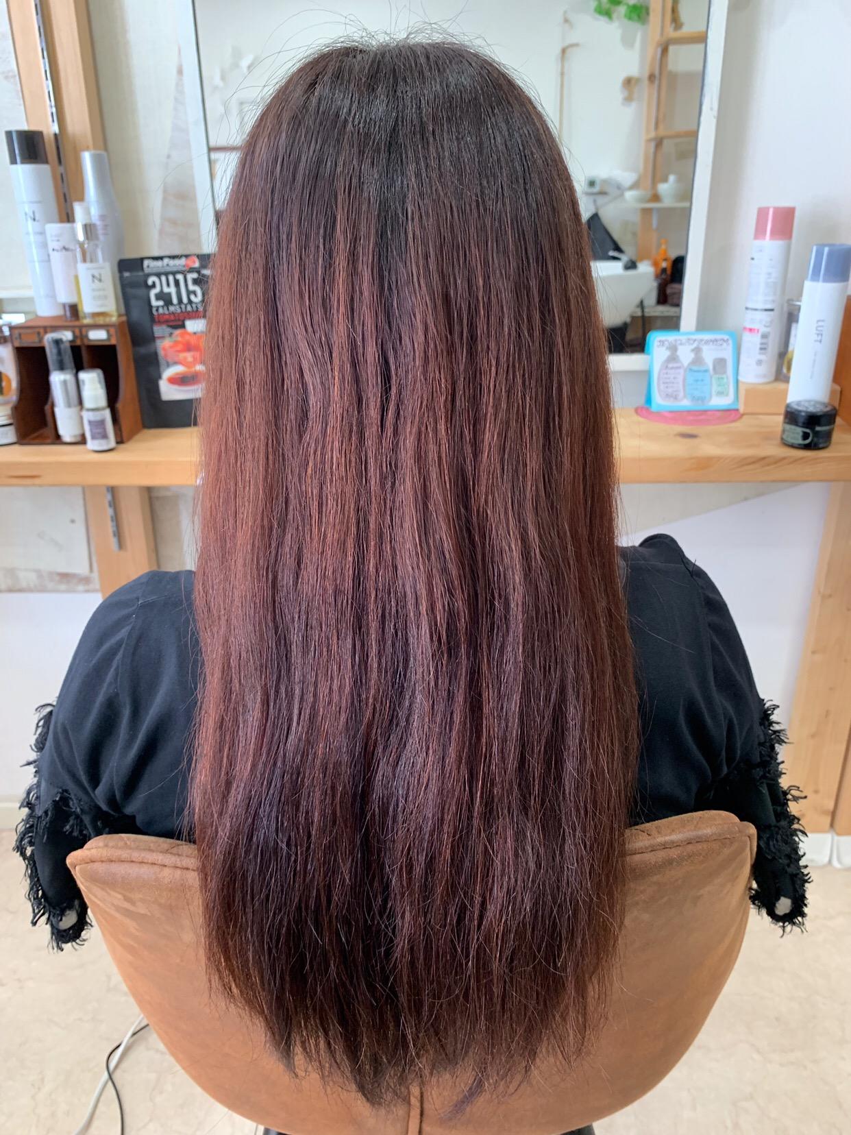 LULUトリートメント×縮毛矯正+LULUトリートメントでつやっつやの艶髪。原宿・表参道『1000人をツヤ髪にヘアケア美容師の挑戦』