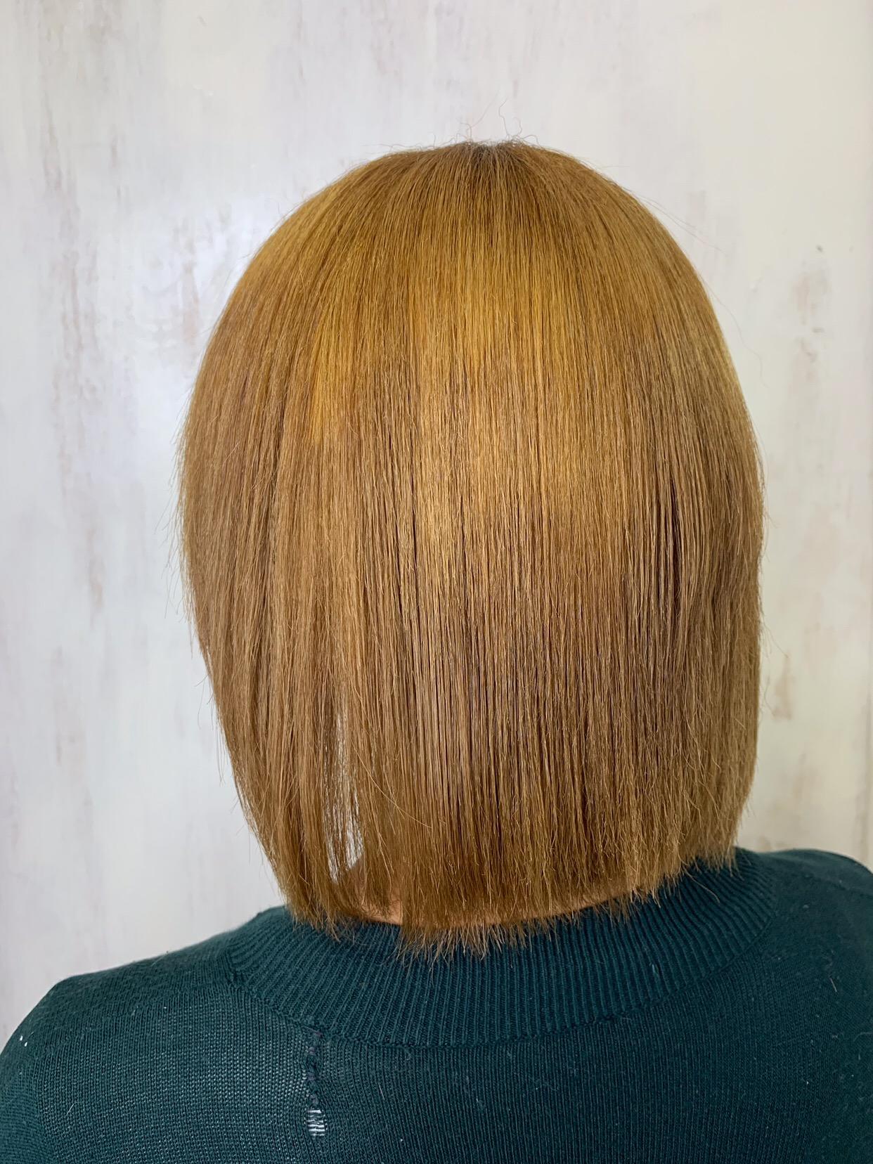強めのくせ毛+ブリーチ毛に縮毛矯正。原宿・表参道『1000人をツヤ髪にヘアケア美容師の挑戦』