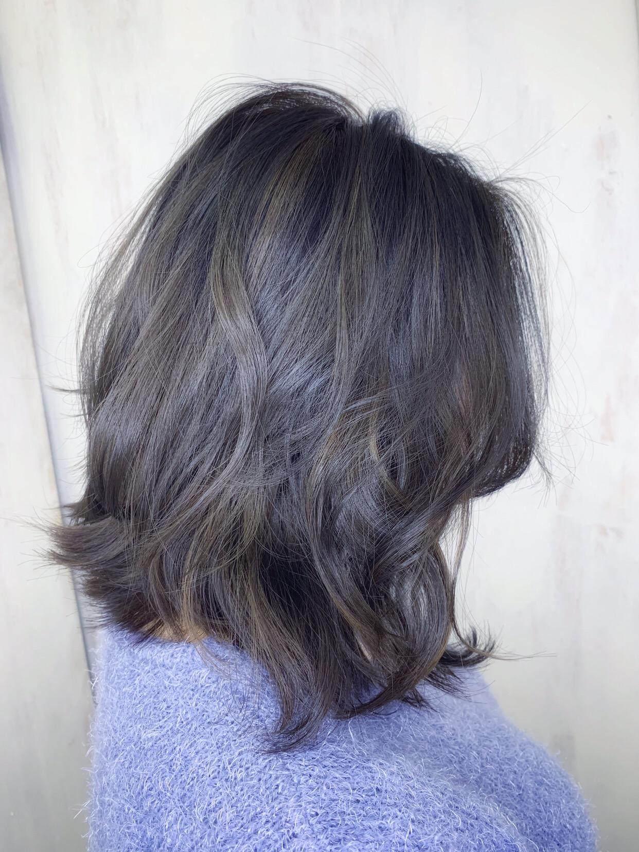 オレオルカラーで艶髪カラー。原宿・表参道『1000人をツヤ髪にヘアケア美容師の挑戦』