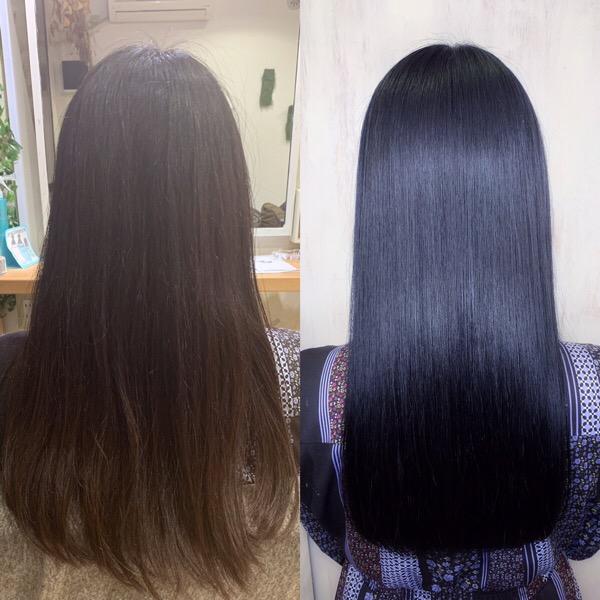 ジュエリーシステム×LULUトリートメント×縮毛矯正でつやっつやの艶髪。原宿・表参道『1000人をツヤ髪にヘアケア美容師の挑戦』