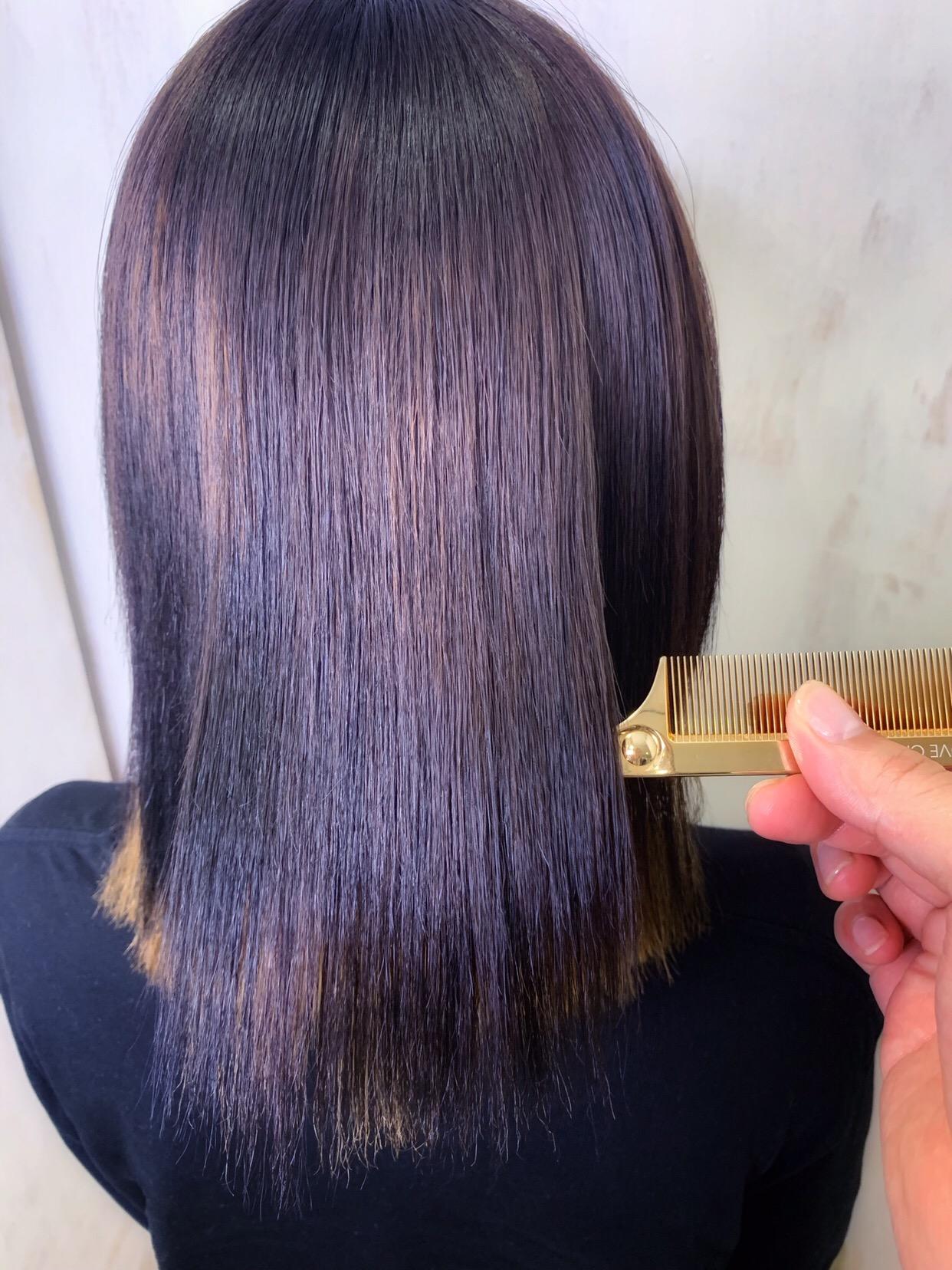 スパイラルパーマで広がった髪を【ビビリ矯正】で艶髪。原宿・表参道『1000人をツヤ髪にヘアケア美容師の挑戦』