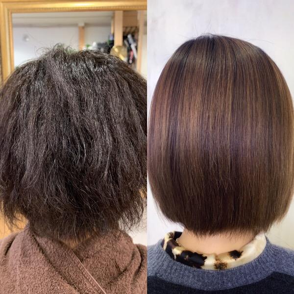 パーマのかかり過ぎで髪がチリチリに…【ビビリ矯正】まとまる艶髪に変身。原宿・表参道『1000人をツヤ髪にヘアケア美容師の挑戦』