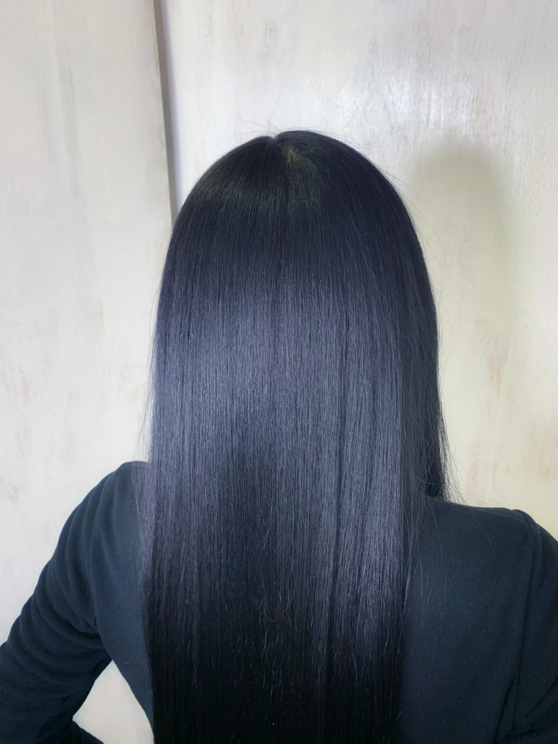 強めのくせ毛の縮毛矯正で艶髪ストレート。原宿・表参道『髪のお悩みを解決するヘアケア美容師の挑戦』