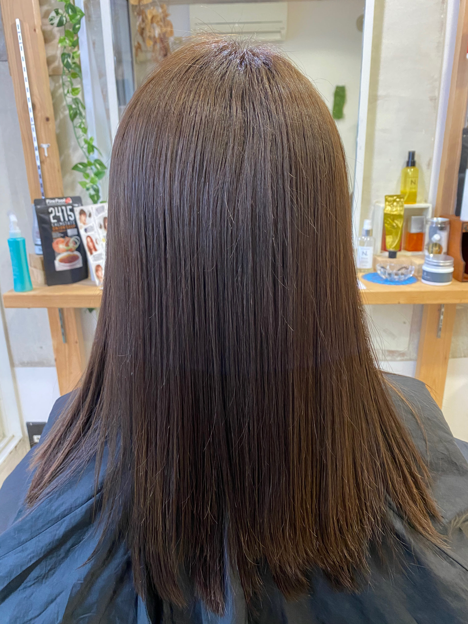 細い髪ので乾燥とパサつきが。。縮毛矯正で艶髪に変身。原宿・表参道『髪のお悩みを解決するヘアケア美容師の挑戦』
