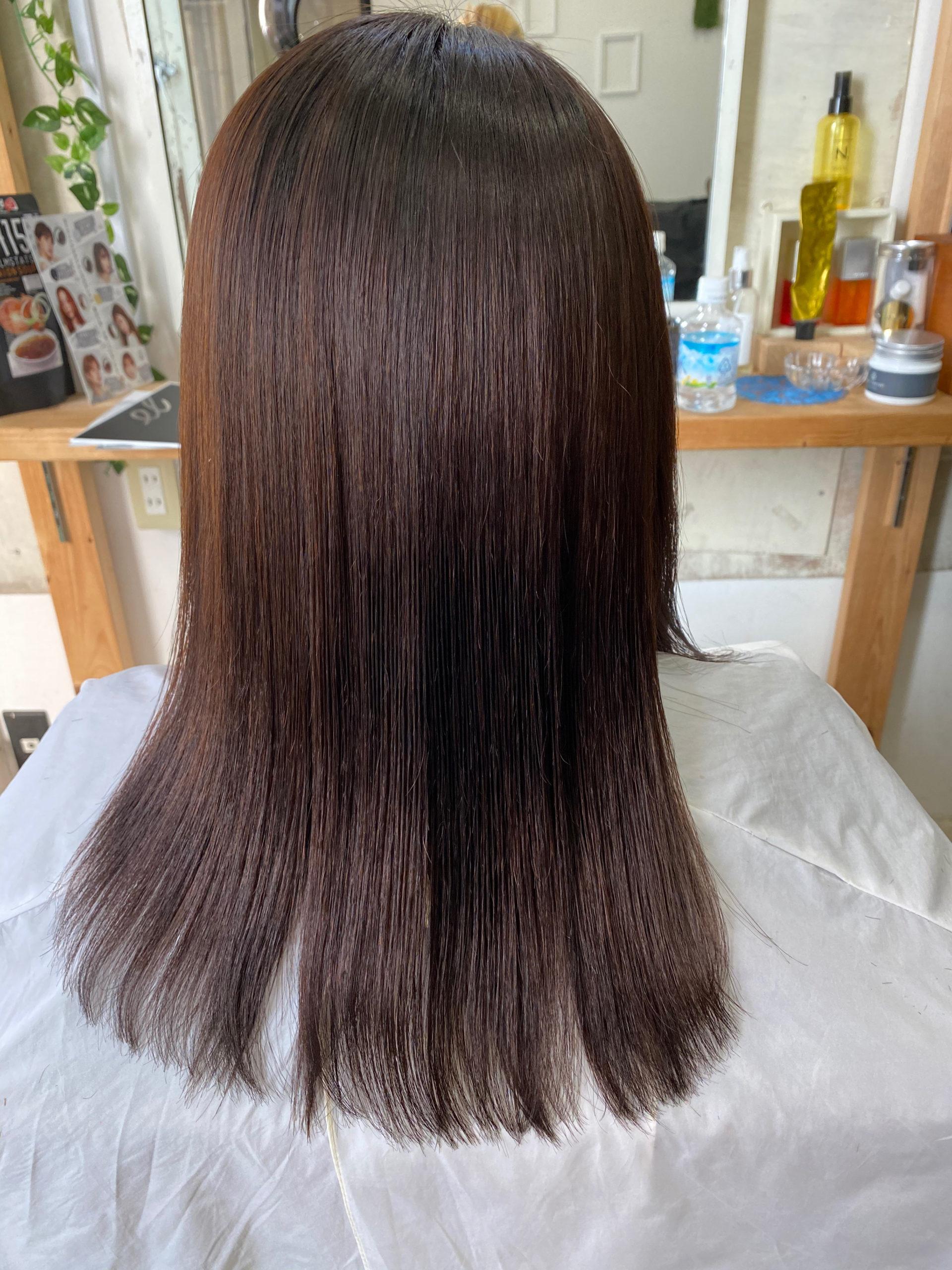 軟毛の縮毛矯正でつやっつやの艶髪。原宿・表参道『髪のお悩みを解決するヘアケア美容師の挑戦』