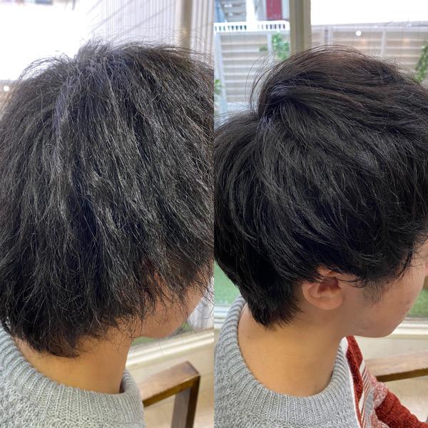 パーマの失敗で髪がチリチリに。。【ビビリ矯正】で直します。原宿・表参道『髪のお悩みを解決するヘアケア美容師の挑戦』