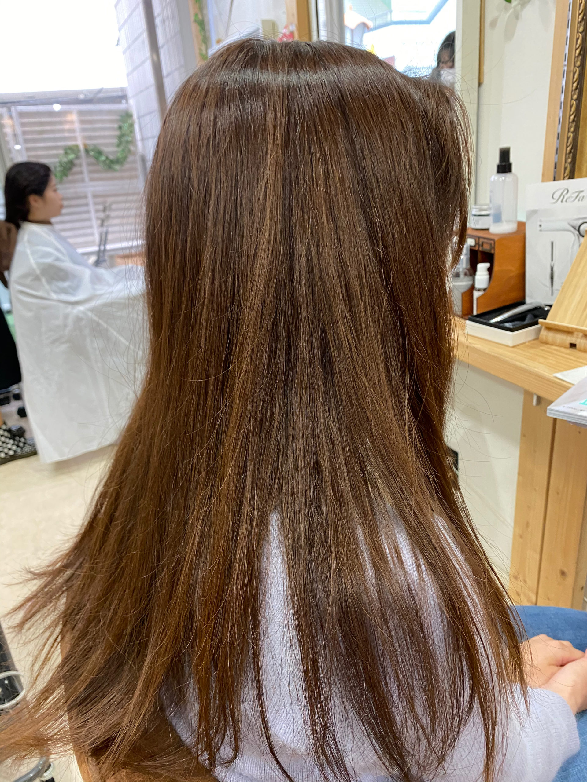 LULUトリートメント×縮毛矯正で輝く艶髪。原宿・表参道『髪のお悩みを解決するヘアケア美容師の挑戦』