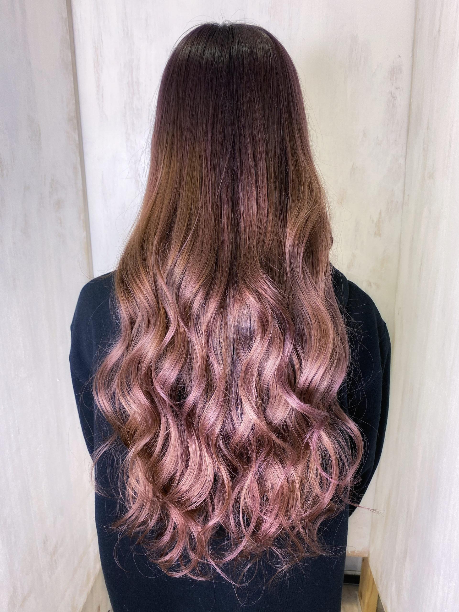 髪質改善とオレオルカラーで艶髪バイオレットカラー。原宿・表参道『髪のお悩みを解決するヘアケア美容師の挑戦』