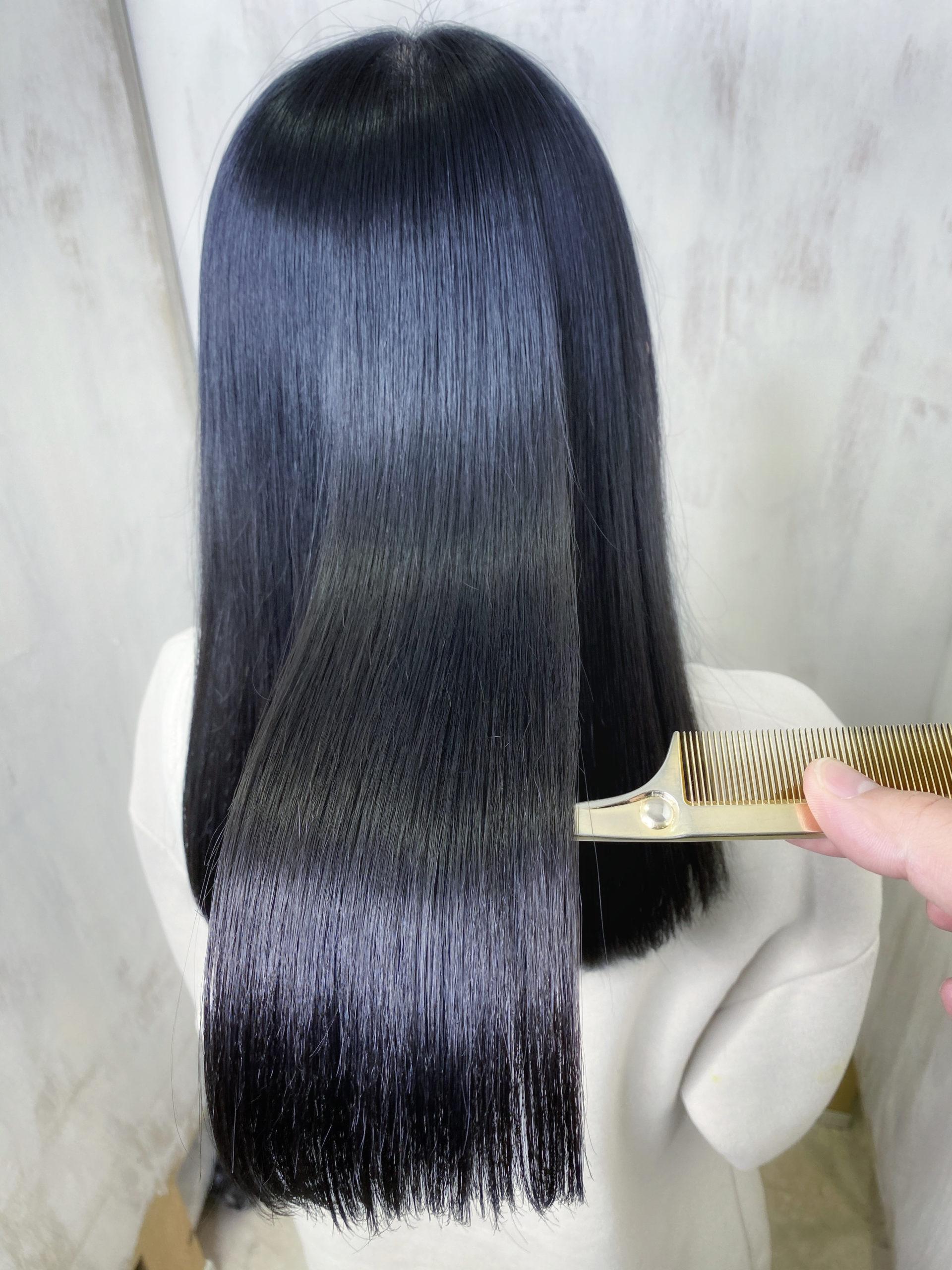 ジュエリーシステム×LULUトリートメント×縮毛矯正で輝く艶髪。原宿・表参道『髪のお悩みを解決するヘアケア美容師の挑戦』