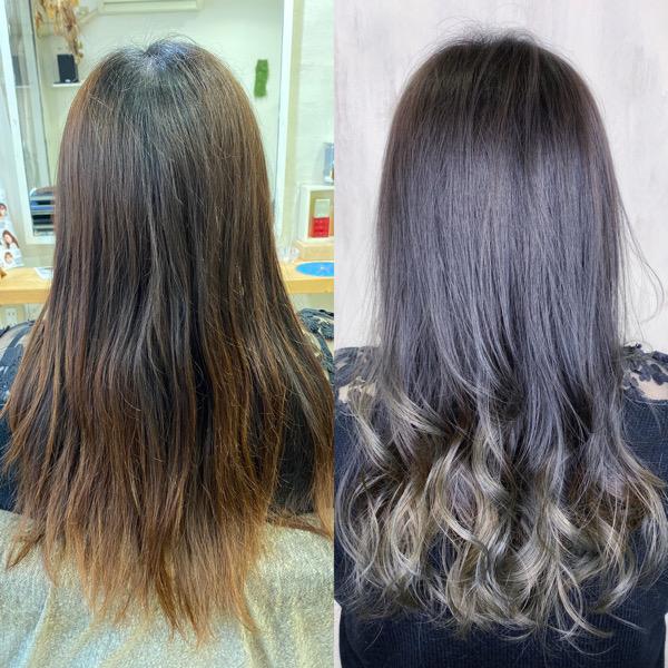 ジュエリーシステム×グラデーションカラーで艶髪カラー。原宿・表参道『髪のお悩みを解決するヘアケア美容師の挑戦』