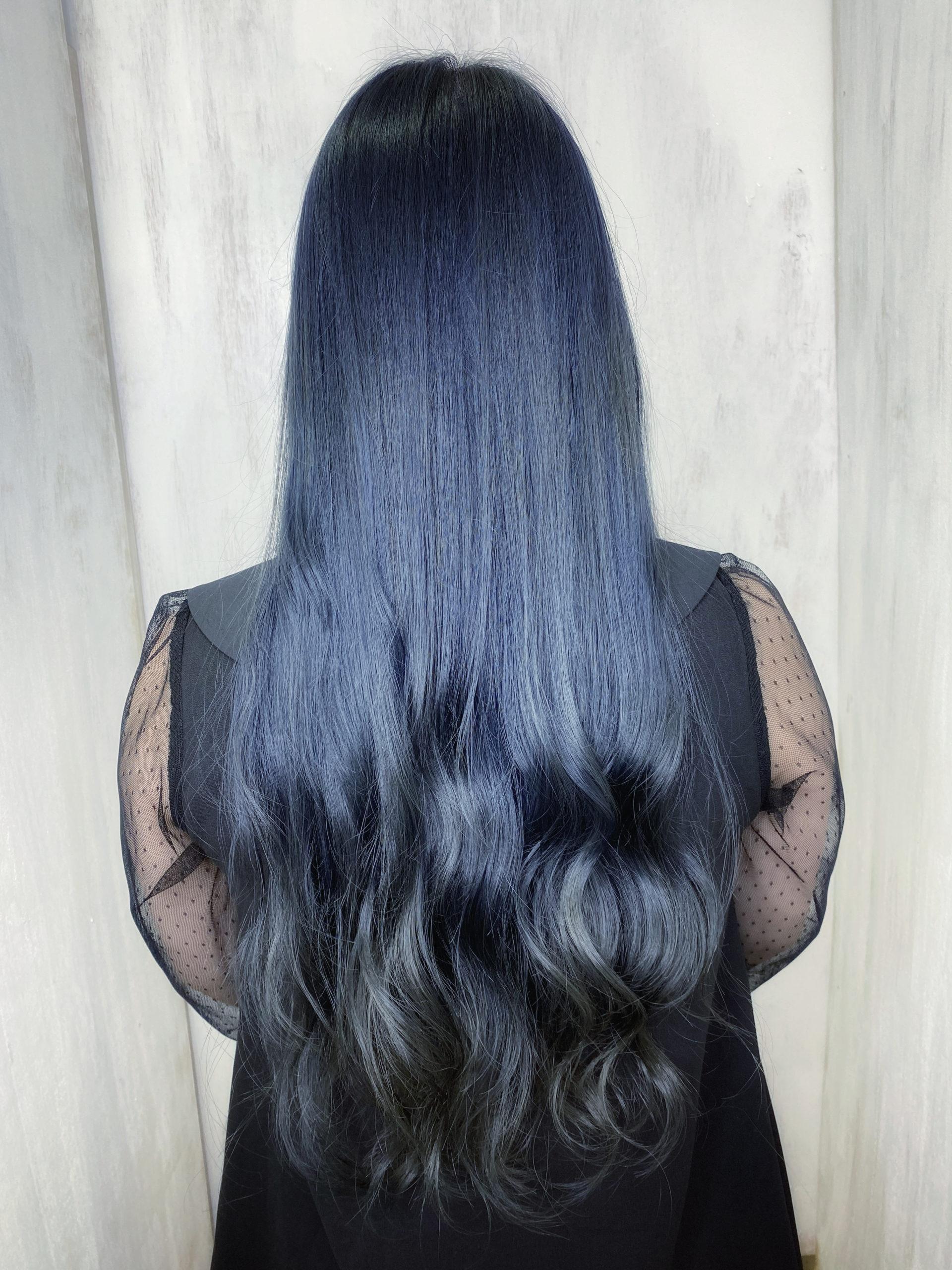 ジュエリーシステム×オレオルカラーで暗髪カラー。原宿・表参道『髪のお悩みを解決するヘアケア美容師の挑戦』