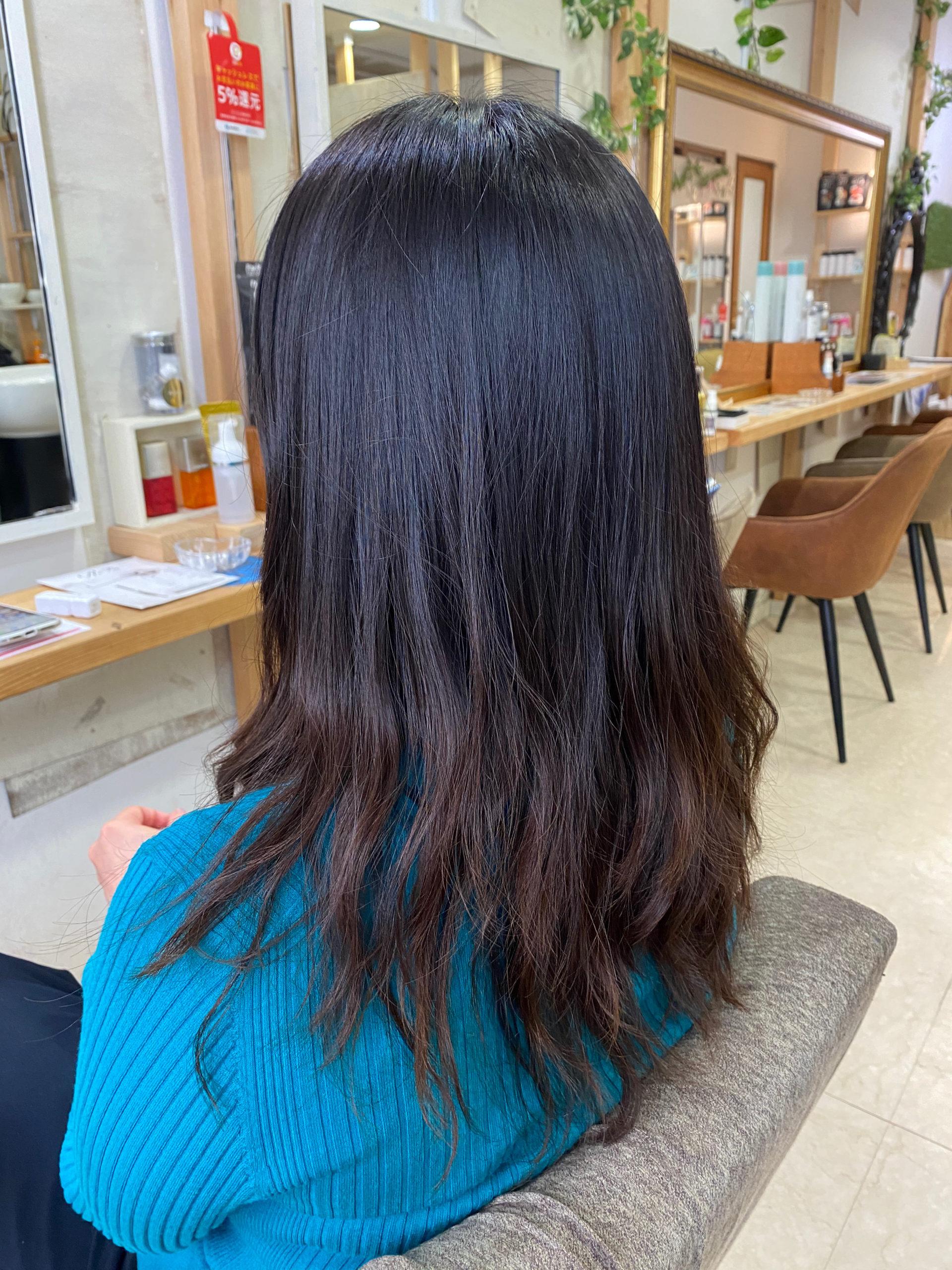 長年のお客様のスタイルチェンジ。原宿・表参道『髪のお悩みを解決するヘアケア美容師の挑戦』