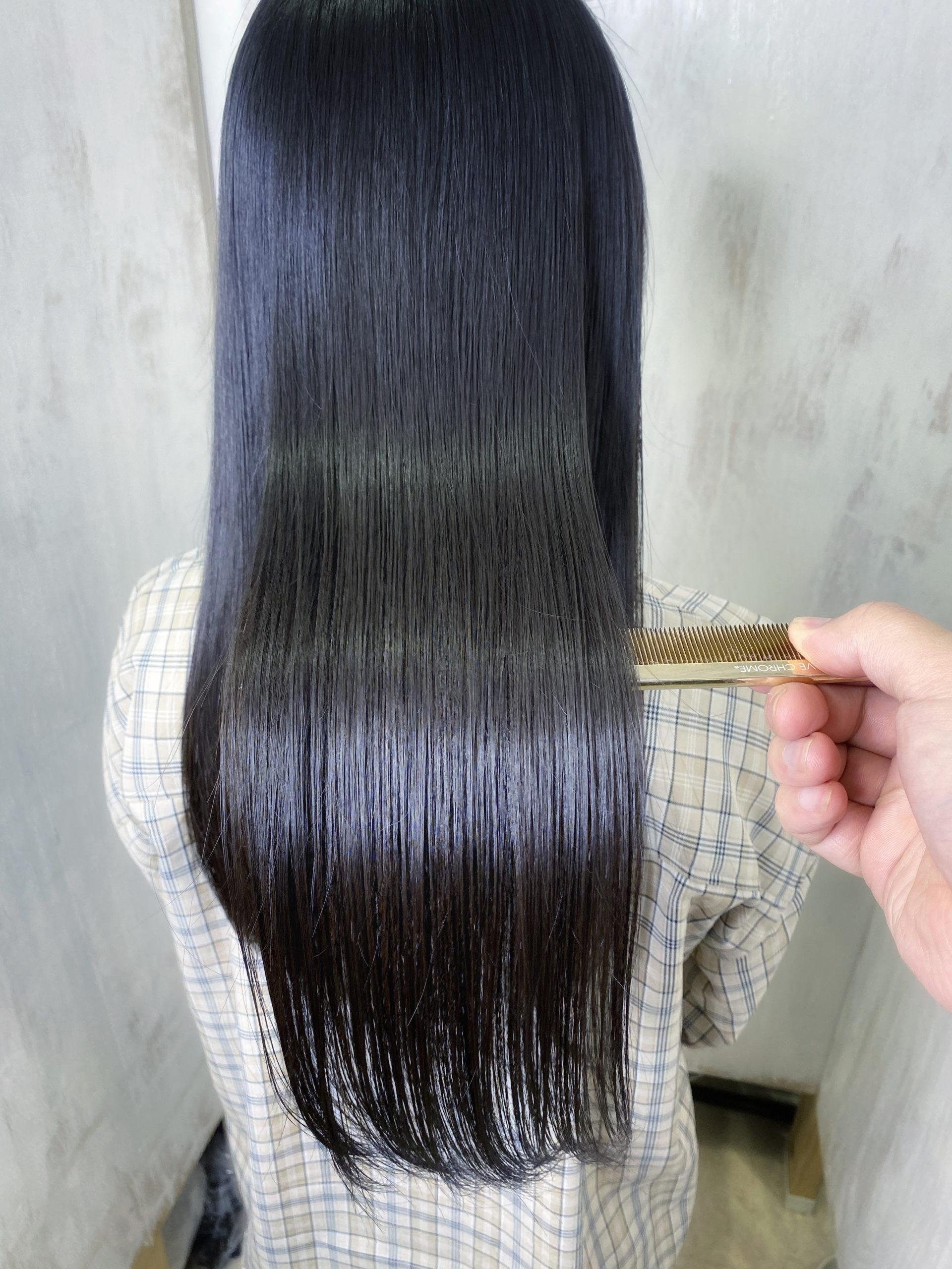 髪のパサつきが気になる方を【髪質改善】で艶髪に変身。原宿・表参道『髪のお悩みを解決するヘアケア美容師の挑戦』