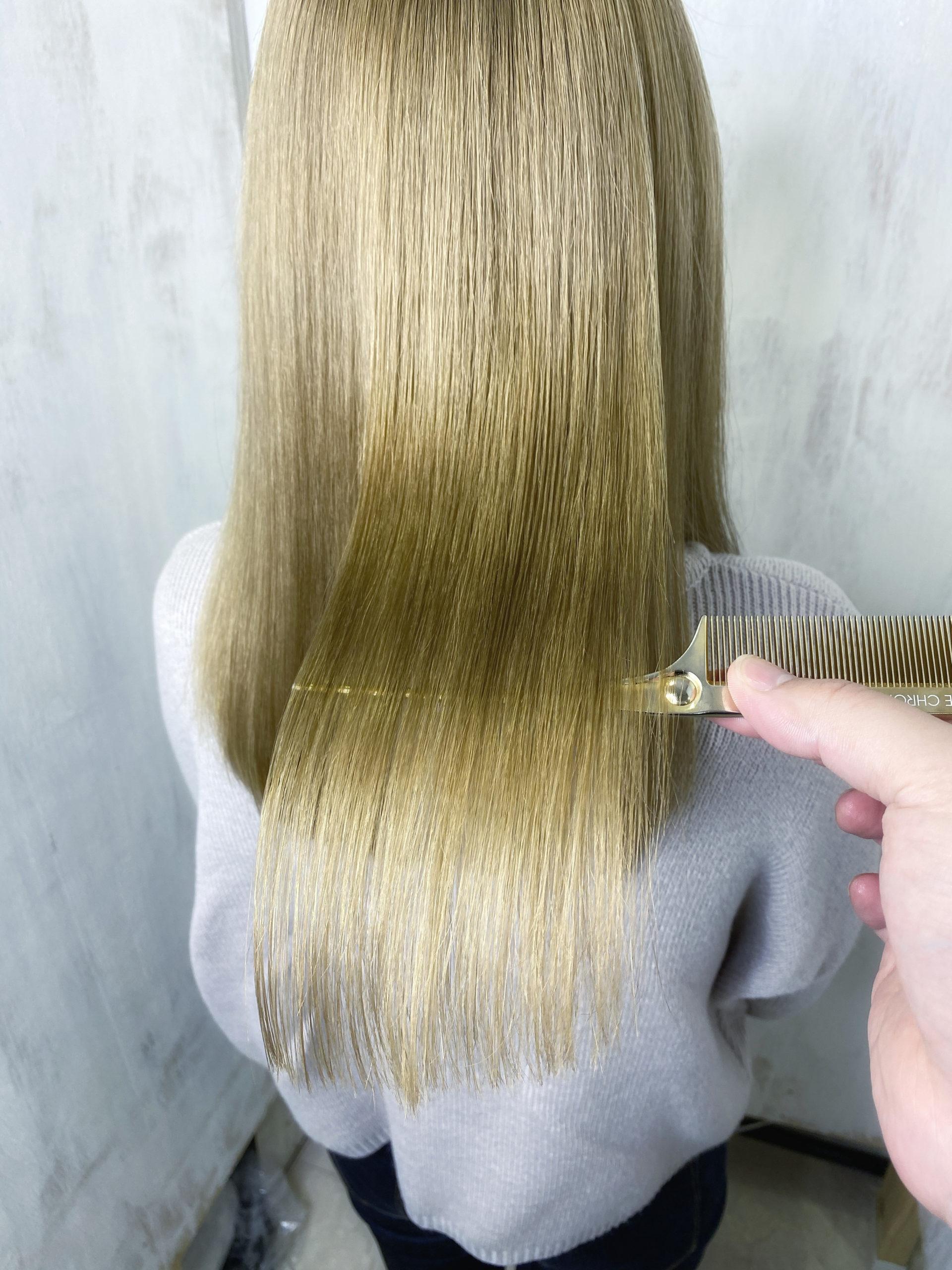 ブリーチ毛の縮毛矯正をジュエリーシステムシリーズで艶髪。原宿・表参道『髪のお悩みを解決するヘアケア美容師の挑戦』