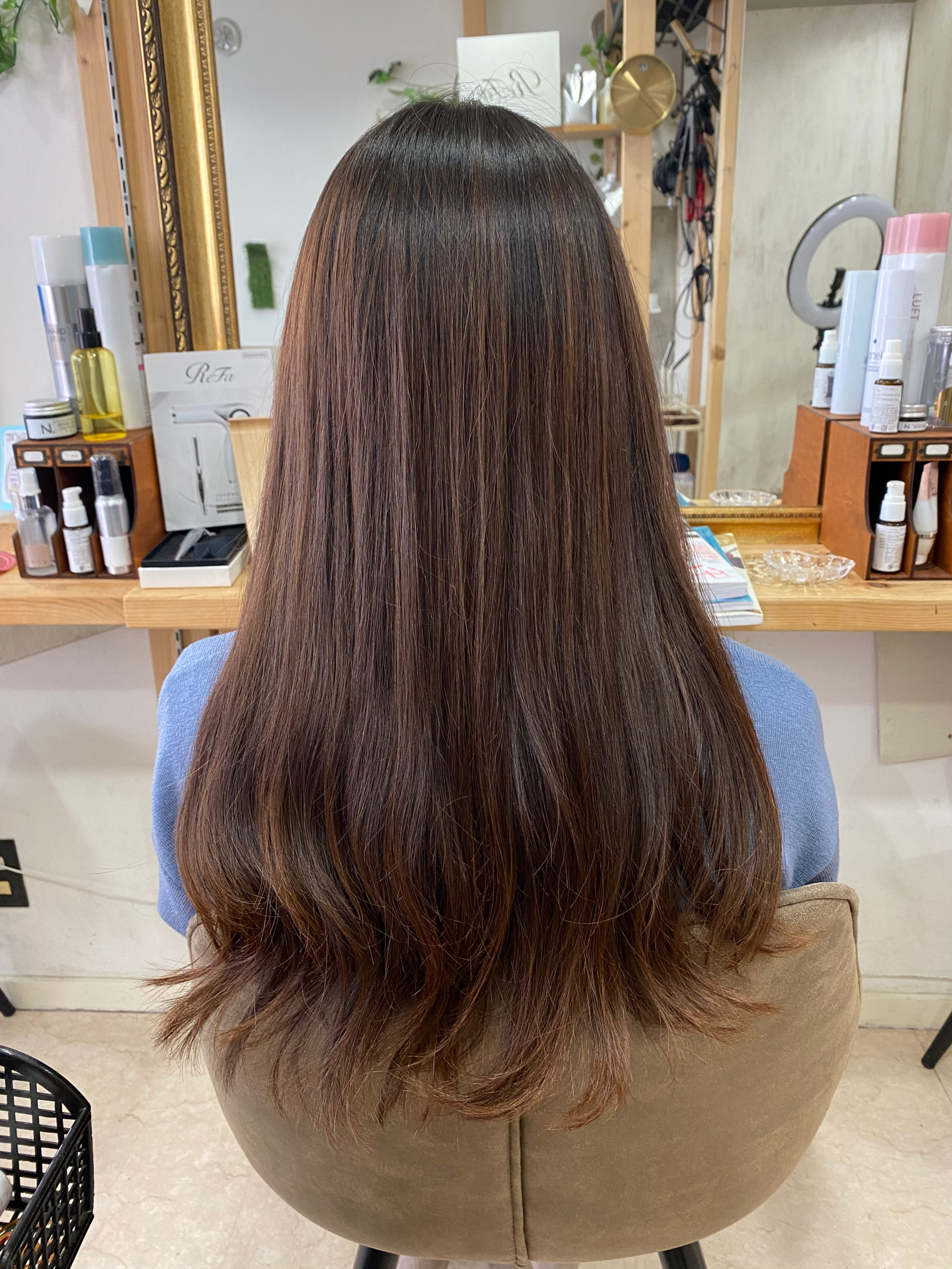 パーマ落としを【LULUトリートメント×縮毛矯正】で艶髪に。原宿・表参道『髪のお悩みを解決するヘアケア美容師の挑戦』