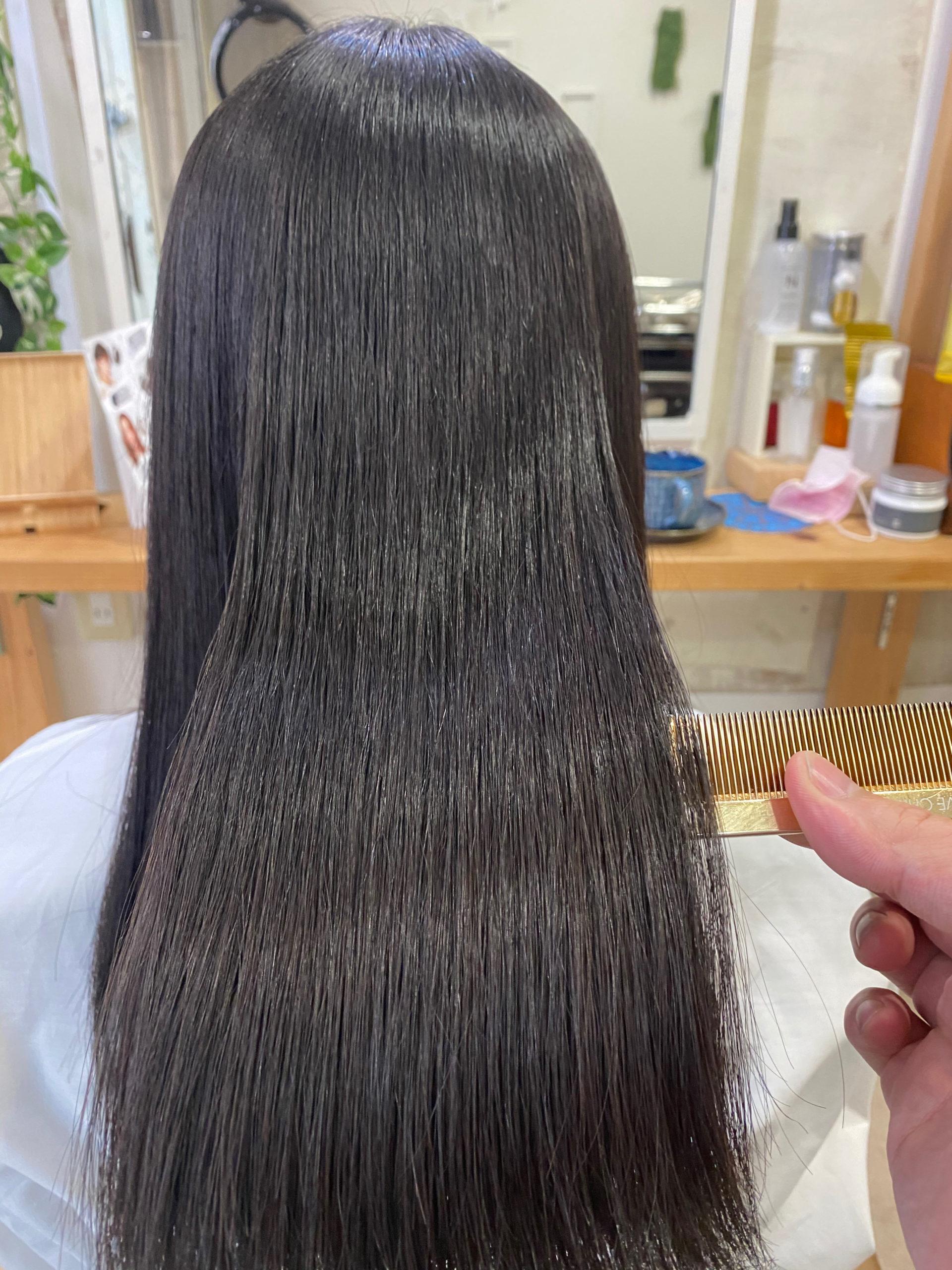 くせ毛とパサつきでお悩みの方を【LULUトリートメント×縮毛矯正】で艶髪。原宿・表参道『髪のお悩みを解決するヘアケア美容師の挑戦』