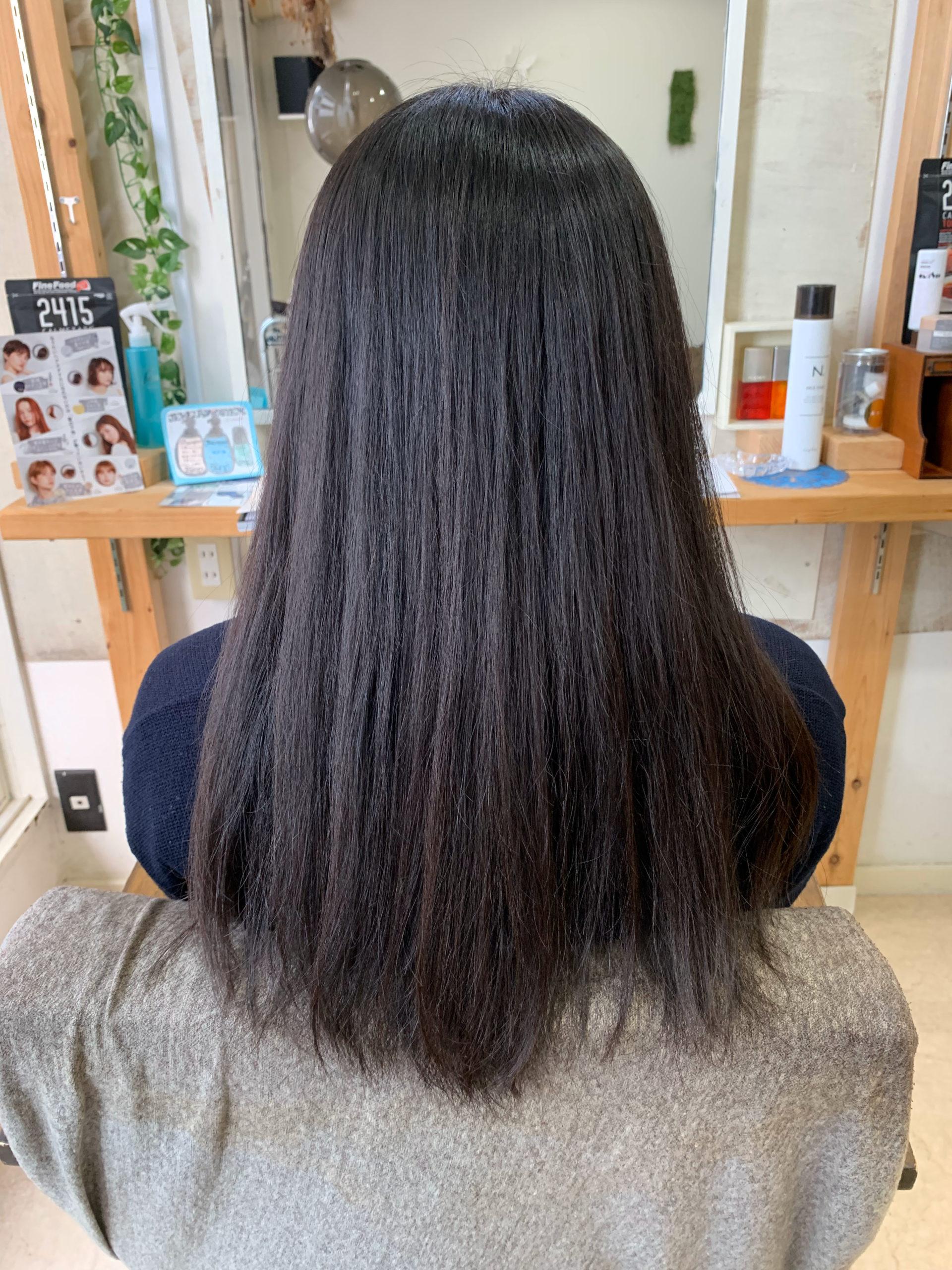 ジュエリーシステムシリーズ×縮毛矯正でパサつく髪を艶髪に変身。原宿・表参道『髪のお悩みを解決するヘアケア美容師の挑戦』
