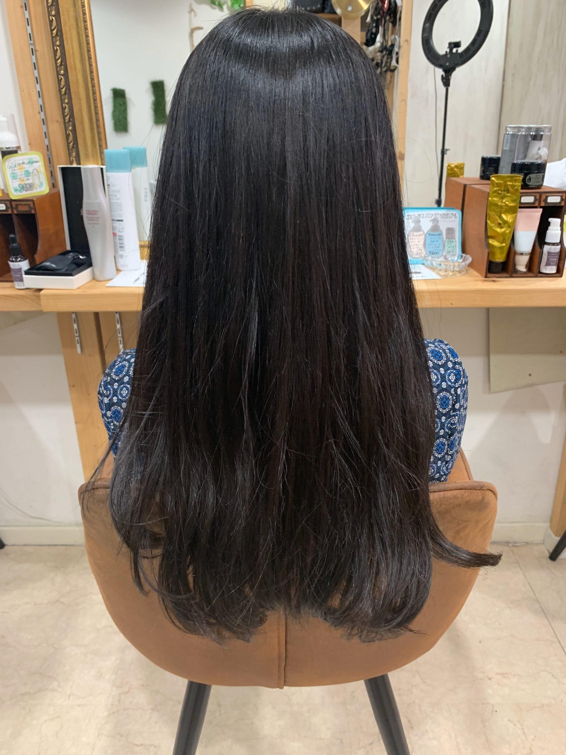 ジュエリーシステム×LULUトリートメント×縮毛矯正でつやっつやの艶髪。原宿・表参道『髪のお悩みを解決するヘアケア美容師の挑戦』