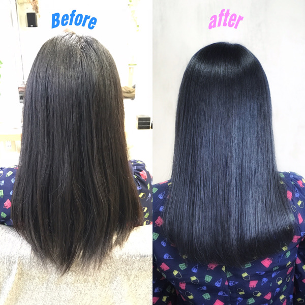 ジュエリーシステムシリーズで艶髪に変身Before after 【5選】原宿・表参道『髪のお悩みを解決するヘアケア美容師の挑戦』