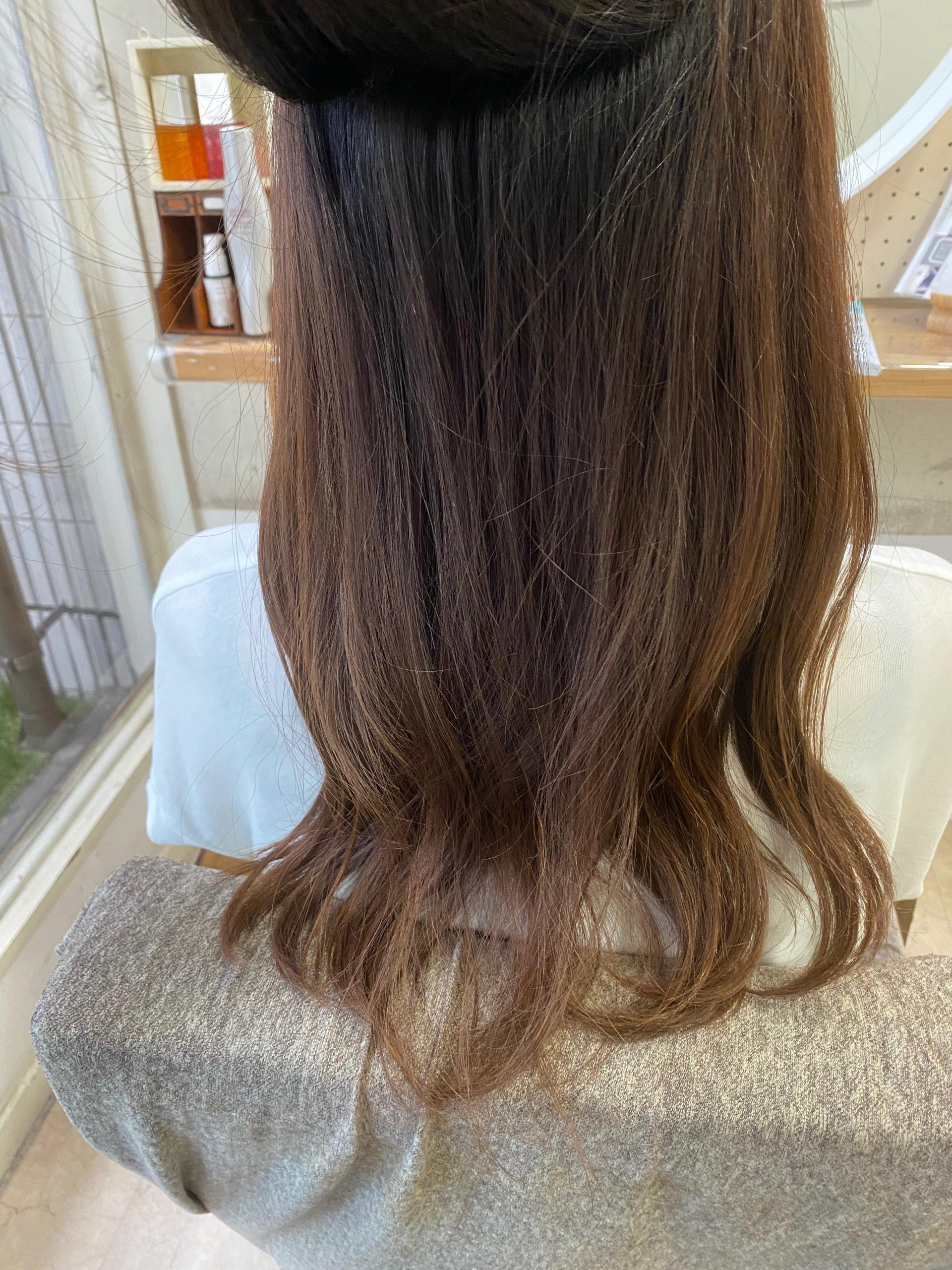 LULUトリートメント×縮毛矯正で【パーマ落とし】原宿・表参道『髪のお悩みを解決するヘアケア美容師の挑戦』