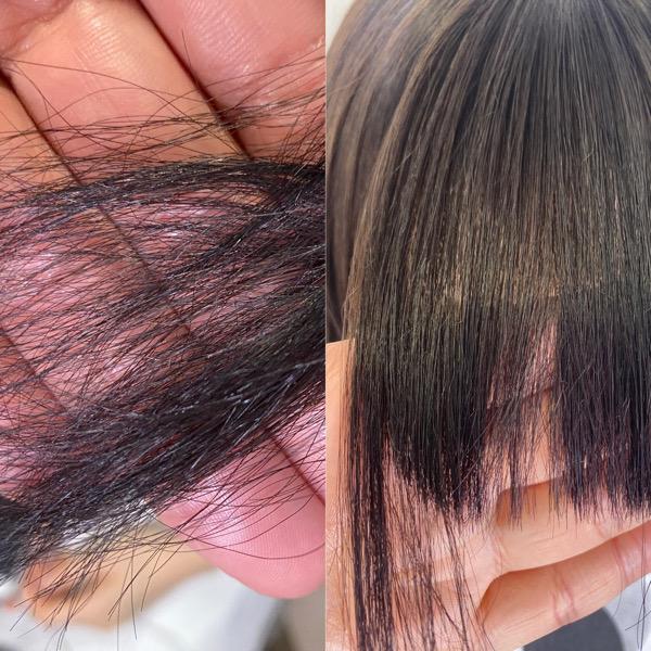 髪のチリチリを【ビビリ矯正】で艶髪に変身。原宿・表参道『髪のお悩みを解決するヘアケア美容師の挑戦』