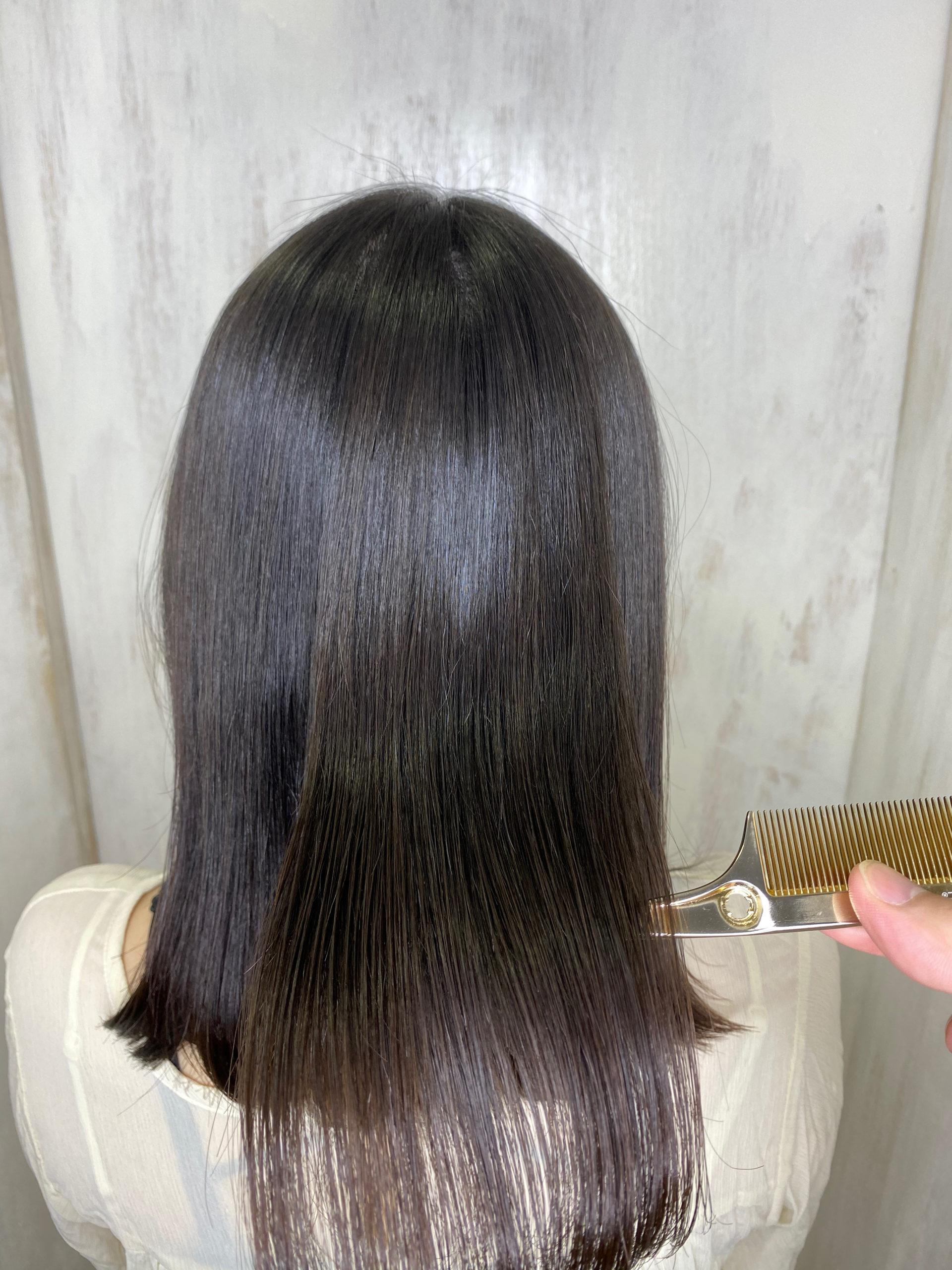パサついて、広がる髪をジュエリーシステム×LULUトリートメント×縮毛矯正で艶髪ストレートヘアに変身。原宿・表参道『髪のお悩みを解決するヘアケア美容師の挑戦』