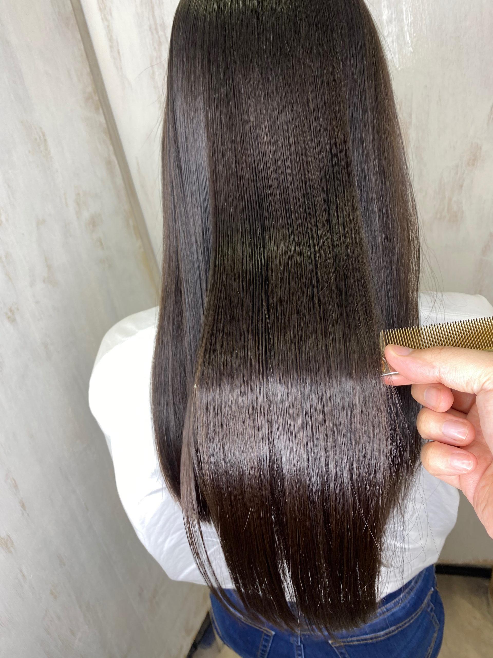 強いくせ毛の方を【ビビリ矯正】で艶髪ストレートヘアに変身。原宿・表参道『髪のお悩みを解決するヘアケア美容師の挑戦』