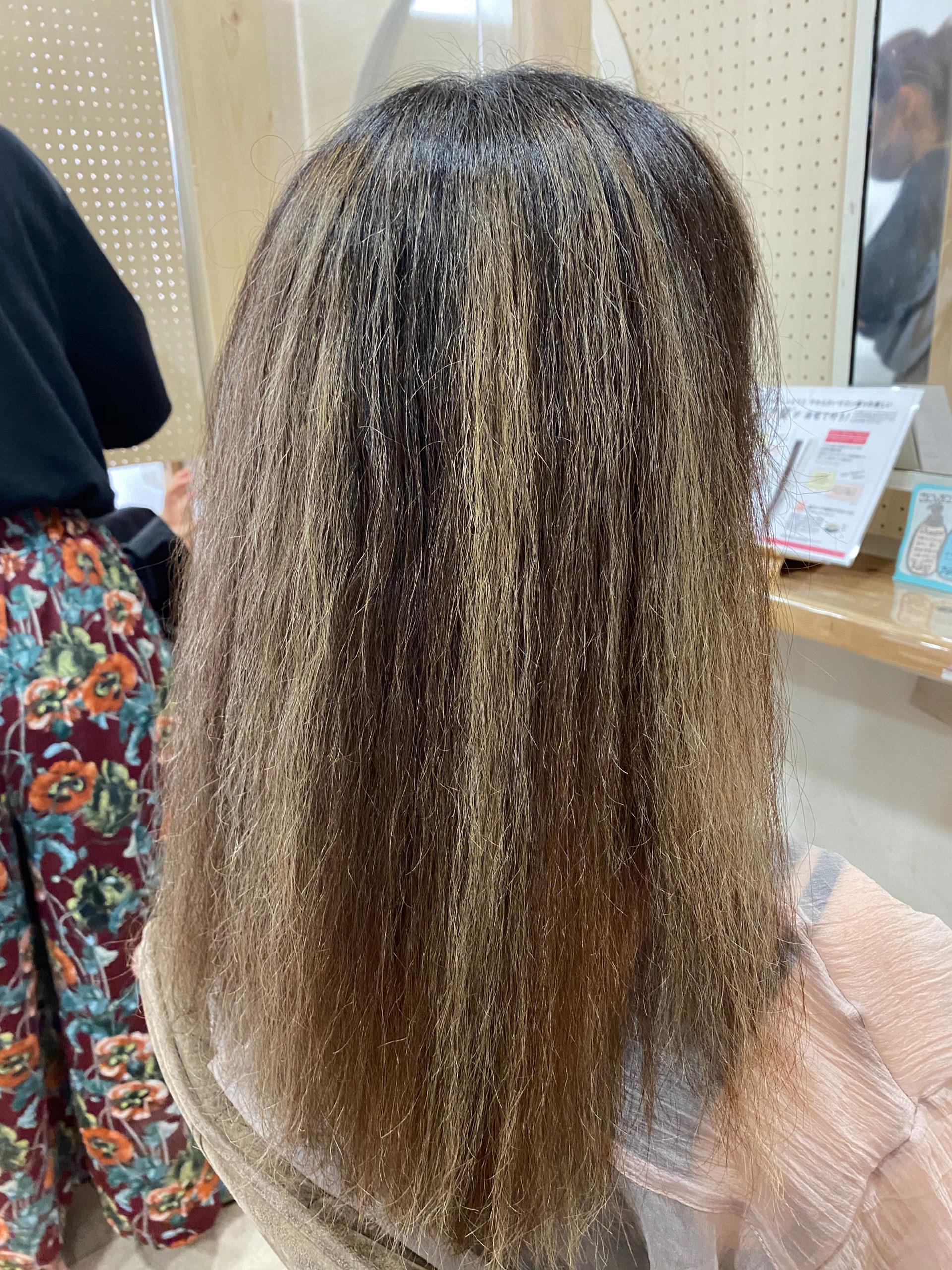 髪のチリチリを直す【ビビリ矯正】原宿・表参道『髪のお悩みを解決するヘアケア美容師の挑戦』