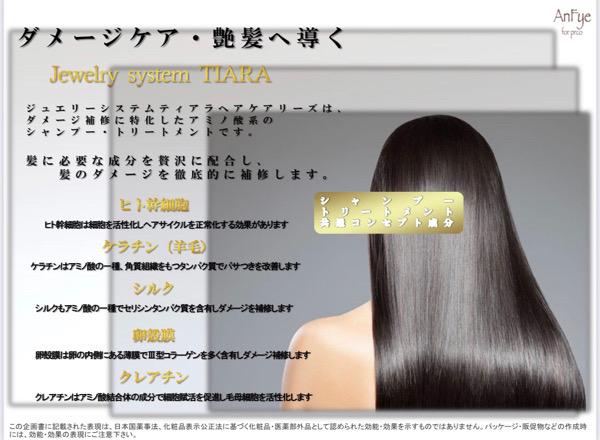 12月限定の【ジュエリーシステム・ティアラ】のお得なキャンペーン。原宿・表参道『髪のお悩みを解決するヘアケア美容師の挑戦』