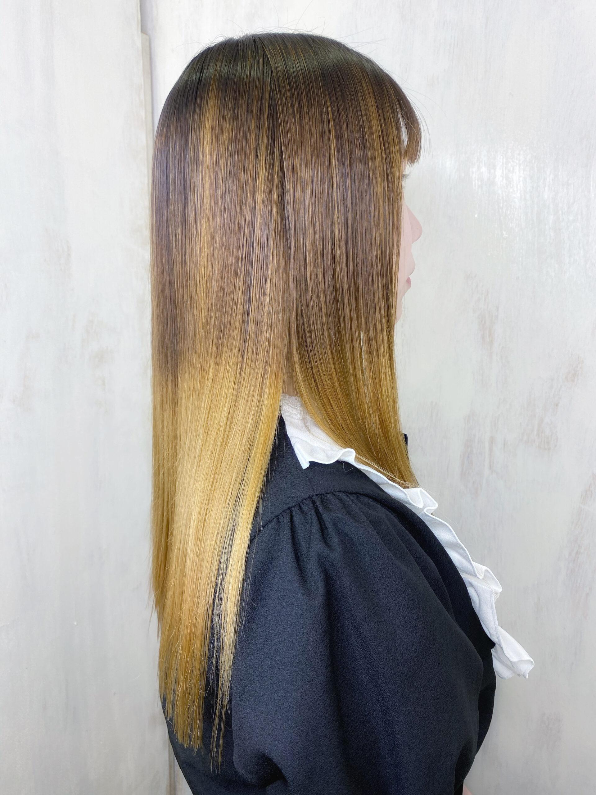 ブリーチ毛の方を【ジュエリーシステムシリーズ×縮毛矯正】でつやっつやの艶髪ストレートヘア。原宿・表参道『髪のお悩みを解決するヘアケア美容師の挑戦』