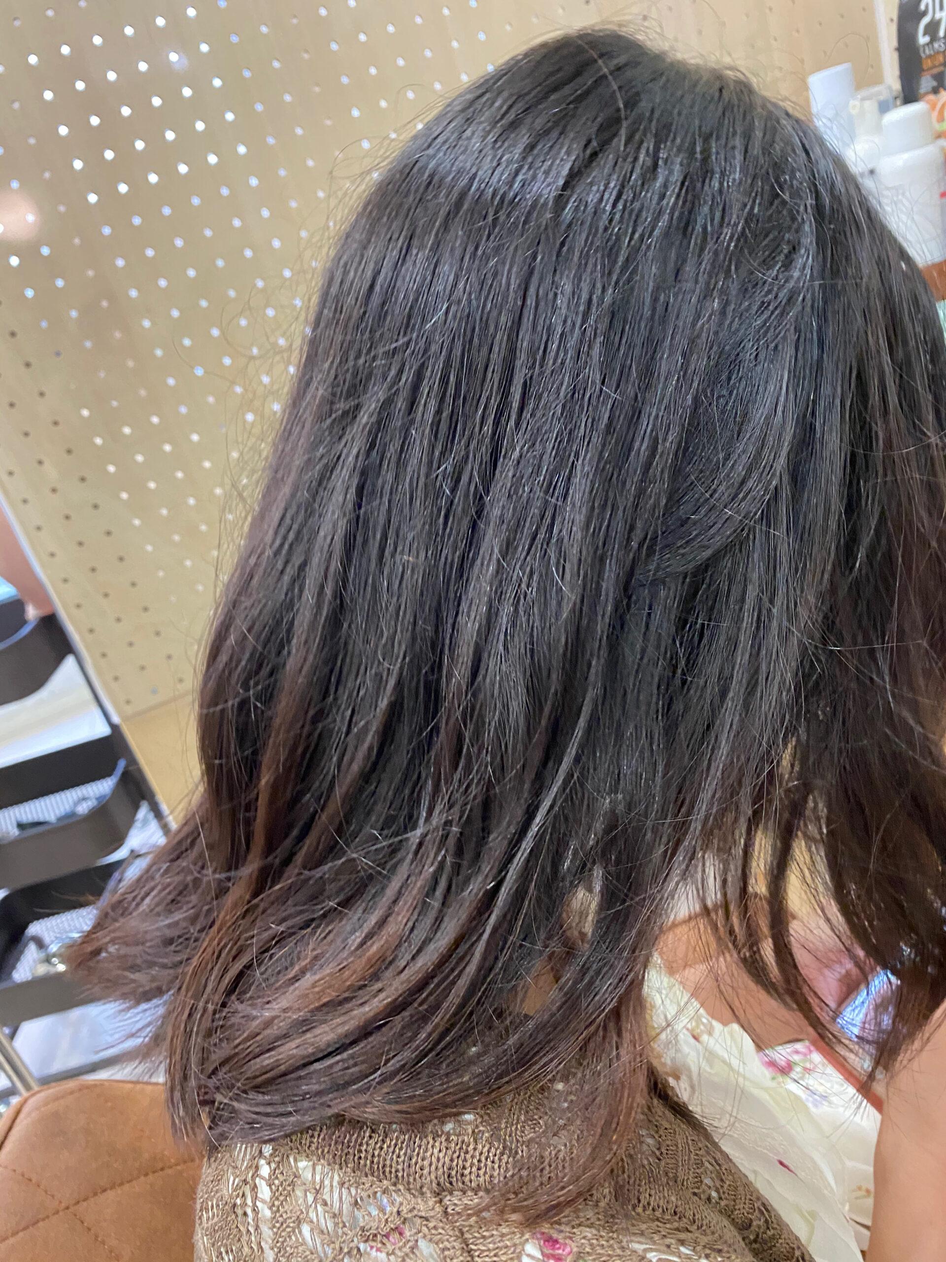 ジュエリーシステム×LULUトリートメント×縮毛矯正でまとまる艶髪。