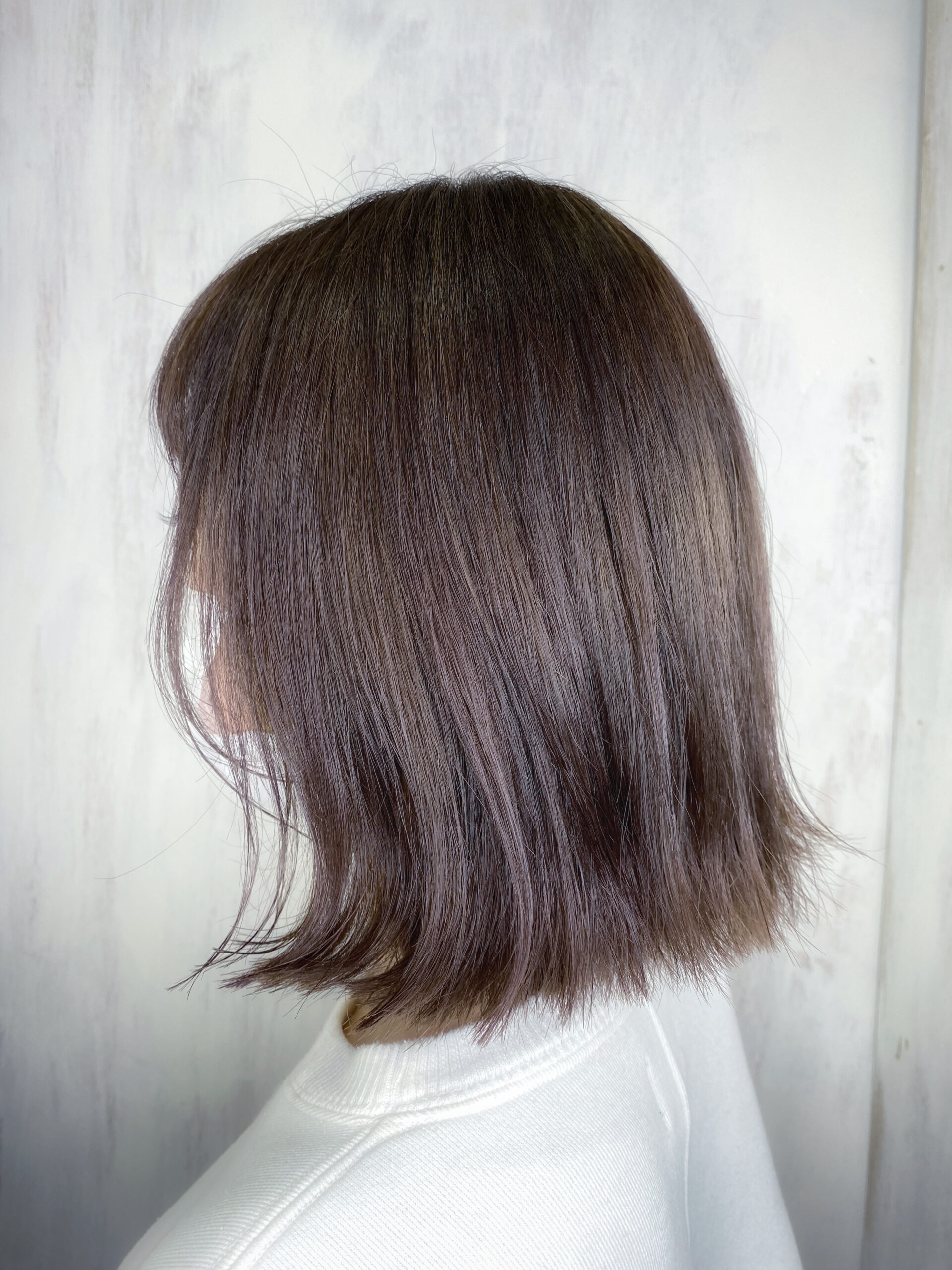 ブリーチ毛の方をジュエリーシステム×LULUトリートメント×縮毛矯正